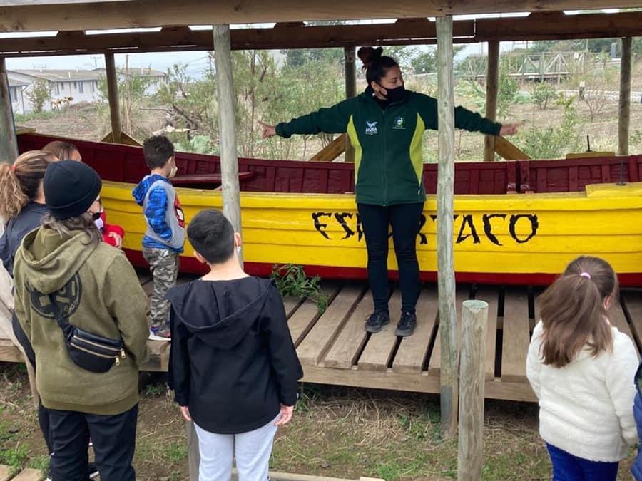 Continúan los recorridos guiados por el Bioparque del Museo de Historia Natural e Histórico de San Antonio (MUSA)